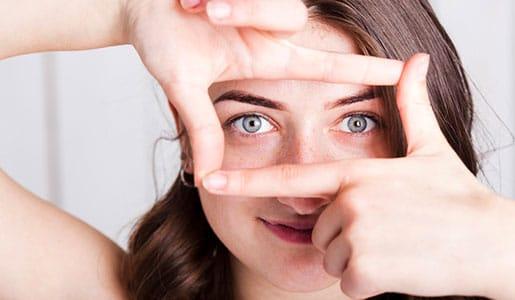 Augenlidstraffung - Operative Korrrektur von herabhängenden Oberlidern und Unterlidern