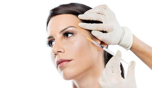 Faltentherapie BTX - Hautverjüngung mit Botulinumtoxin